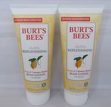 2 Pack Burt's Bees Cocoa + Cupuacu Butters Body Lotion for Dry Skin, 6oz  Each