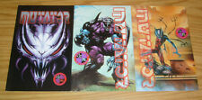 Mutator #1-3 VF/NM complete series SIMON BISLEY COVER ART checker comics set 2