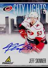 JEFF SKINNER 2011 PINNACLE CITY LIGHTS CERTIFIED AUTOGRAPH BV$80.00!!!!