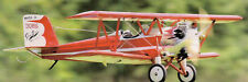Giant 1/6 Scale Gee Bee Model A Biplane Plans, Templates and Instructions 60ws