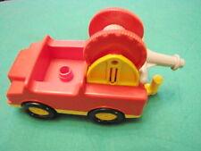 LEGO DUPLO VINTAGE auto con carrucola traino car gancio