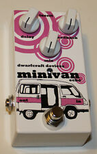 Dwarfcraft Devices Effects Pedal, MiniVan Echo / Delay, NEW, Free Shipping