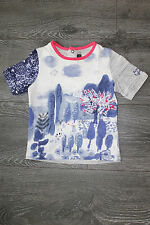 "Beau tee-shirt fille Neuf de marque ""CATIMINI"" taille 4 ans"