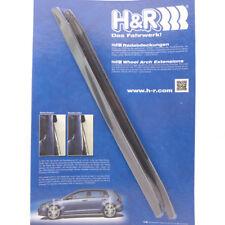 H&R Radabdeckung Kotflügelverbreiterung Radlaufleiste 7mm schwarz 2 Stk. FIT49