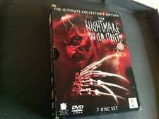 A Nightmare On Elm Street DVD Box Set 1 2 3 4 5 6 7 Complete 1-7 Collection