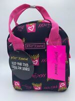 New & Authentic Betsey Johnson Insulated Lunch Bag/Tote. French Fry Print.