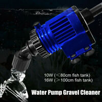 Aquarium Fish Tank Water Pump Gravel Cleaner Sand Cleaning Auto Changer