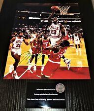 Michael Jordan 8x10 Signed Photo w/ COA Autograph Certified Bulls