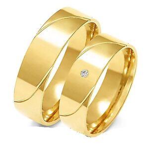 Eheringe Trauringe 585 er Gold Gelb gold 6mm breit  Super preis!!