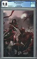 Edge of VenomVerse #1 CGC 9.8 Mattina VIRGIN Variant