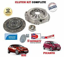 FOR KIA PICANTO + RIO 1.2 ENGINE G4LA 2008 > NEW CLUTCH PLATE COVER BEARING KIT