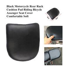 Motorcycle Rear Rack Cushion Pad Mat Riding Bike Passenger Seat Cover Soft Trim