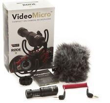 Nueva Cámara DSLR Rode Videomicro compacto micrófono direccional