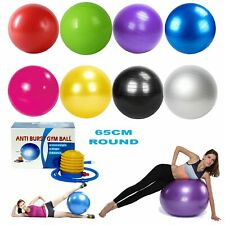 Exercise Fitness 55-75cm Yoga Swiss Anti Burst Core Gym Ball Birthing Bal +Pump