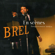 Jacques Brel - Enregistrement Inedits [New CD] France - Import