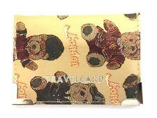 LEATHER TRAVEL CARD HOLDER Credit Bus Pass Bank Oyster Pocket Wallet Case UK B3