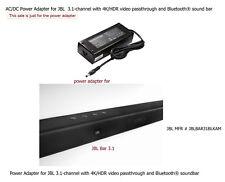 AC Power Adapter Power Supply for JBL Bar 3.1 4K Ultra HD Soundbar