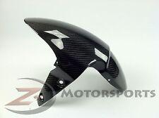 2006-2012 Daytona 675 Front Tire Fender Mud Cowl Fairing 100% Carbon Fiber