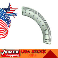 Milling Machine Parts 45 Degree Scale Angle Plate Micrometer For Bridgeport Usa