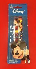 Disney: Mickey Mouse - 2pk Black Ink  Pen NEW