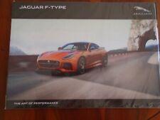 Jaguar F Type Coupe & Roadster brochure Feb 2016 ref JLM/10/02/12/0216