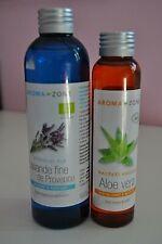 AROMA ZONE hydrolat pure de lavande fine 200 ml + macérat aloe vera bio 100 ml