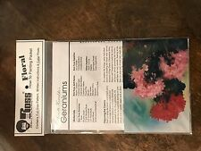 """BOB ROSS FLORAL How To Painting Packet """"Geraniums"""" 'Pattern' FREE SHIPPING"""