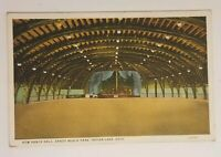 New Dance Hall Sandy Beach Park Indian Lake Ohio Postcard