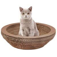 Cat Scratching Lounge Board Corrugated Cardboard Scratcher Cat Scratch Pad  L4W7
