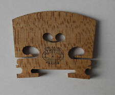 genuine DELUXE Aubert violin bridge, top grade adjustable