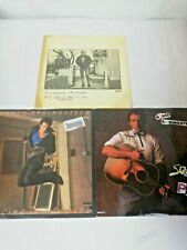 Bruce Springsteen 7 inch vinyl Singles x3 Dancing in the dark my hometown