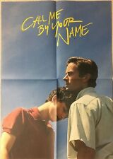 CALL ME BY YOUR NAME Movie 2 flyer Mini poster Japan Rare