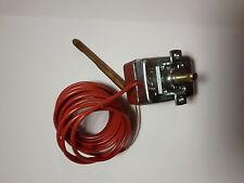 Termostato bulbo capillare per caldaia stufe bojler regolabile da 0° a 90 °c
