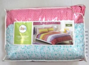 Circo Basic Collection Warm Banded Ruched 7 Piece Bed Set Size Full