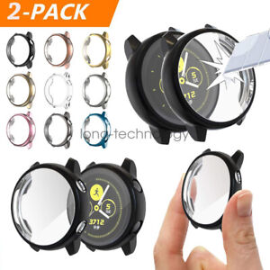 AU 2Pack Soft TPU Protector Watch Case Cover For Samsung Galaxy Watch Active 2 1