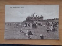 VINTAGE POSTCARD - THE SAND CHAIRS - RHYL - WALES