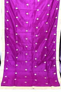 Women's Art Silk Dupatta with Lace - Woman Fashion Accessories