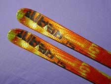 Salomon SCREAM Hot 10P 185cm Skis *spaceframe* w/ Sal s912 DEMO Bindings ✻❆❆