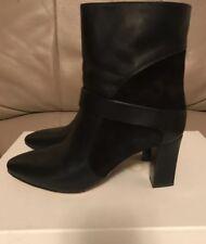 048979fe239 Chloe Black Mid Calf Boots Size 38 (US 7 1 2)