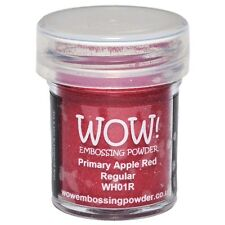 WOW!Embossing Powder 15ml - Apple Red