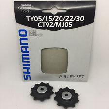 Shimano Schaltrollensatz 6/7/8 fach Pulley Set 10 Z. Schaltungsrädchen Röllchen