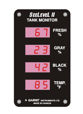 See Level II Tank Monitor 713 New in Box Garnet Instruments RV Motorcoach