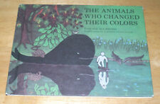 Vintage HB The Animals Who Changed Their Colors Weekly Reader Children's Book