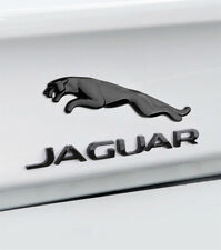 Glossy Black Jaguar Logo Emblem Rear Badge Decal XF XJ XK XJR XJS E X S TYPE