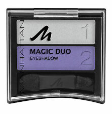 Manhattan Magic Duo Eyeshadow 101c popping plum