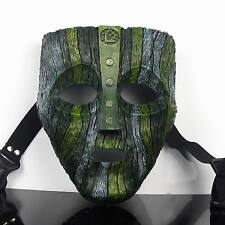 Resin Loki Mask Jim Carrey The God of Mischief Movie Replica Party Prop