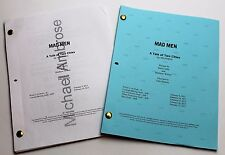 Mad Men * 2x DIFFERENT 2013 TV Script DRAFTS * Jon Hamm * Season 6, Episode 10