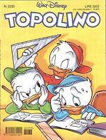 fumetto TOPOLINO WALT DISNEY numero 2233