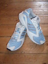 """LADIES """"ADIDAS"""" LIGHT BLUE LACE UP TRAINER SIZE 8"""