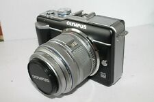 Olympus PEN E-PL1 12.3MP with M Zuiko 14-42mm IIR MSC lens Shutter count 1017
